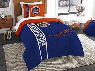 The Northwest Company Northwest MLB New York Mets Twin Comforter & Sham