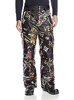 Neff Pantalón Esquí Daily 2 Pants (Negro / Naranja)