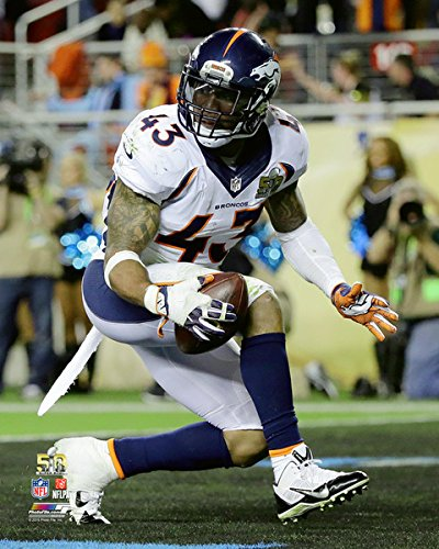 T.J. Ward Denver Broncos Super Bowl 50 Photo (Size: 8