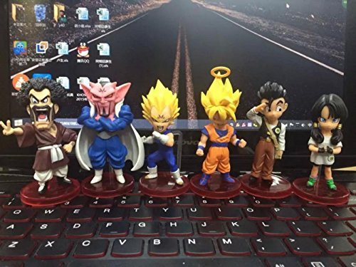 [Rosy Women Dragon Ball Z New Dwc Wcf Majin Buu Article Pvc Action Figure Collection Model Toys Doll] (Buu Costume)