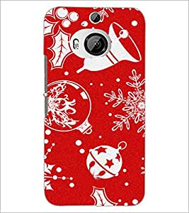 PrintDhaba Abstract Image D-4834 Back Case Cover for HTC ONE M9 PLUS (Multi-Coloured)