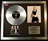 BLONDIE/CD PLATINUM DISC & PHOTO DISPLAY/LIMITED EDITION/PARALLEL LINES