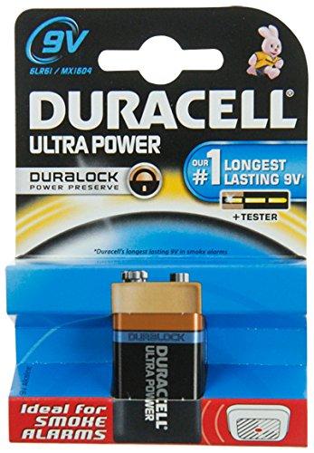 Duracell-ultra-pile alcaline 6 (9 v) lR 61