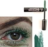 SuperShock Brights Mascara Avon supershock in emerald shock shade [green]