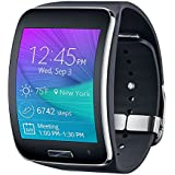 "Samsung Gear S SM-R750 - SmartWatch Android (pantalla 2"", 4 GB, 512 MB RAM, WiFi, Bluetooth, USB), negro -Asia Version-"
