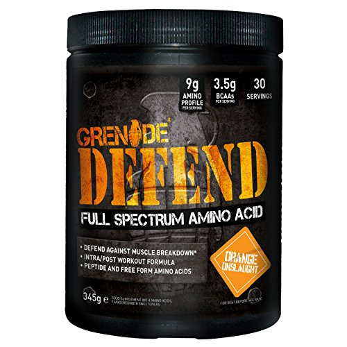 Grenade 345g Defend Orange Onslaught