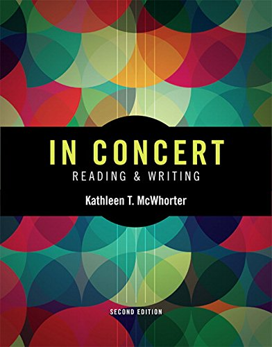 In Concert: An Integrated Approach to Reading and Writing (2nd Edition) PDF