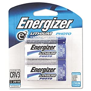 Energizer Products - Energizer - e2 Lithium Photo Battery, CRV3, 3V, 2/Pack - Sold As 1 Pack - Count on it shot after shot. - Long-lasting power. - Withstands extreme temperatures.