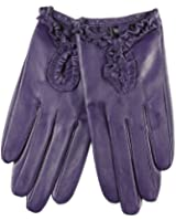 WARMEN Sexy Women's Genuine Nappa Leather Wrist Driving Unlined Gloves
