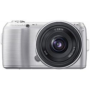 Sony NEX-C3 Compact numérique hybride 16 Mpix Objectif grand angle 16 mm Argent