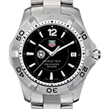 TAG HEUER watch:Georgia Tech TAG Heuer Watch - Men's Steel Aquaracer with Black Dial at M.LaHart