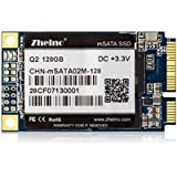 Zheino Msata 128gb SSD (30*50mm) Solid State Drive SSD MLC Flash for Mini Pc Tablet Pc with 256M Cache