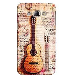 Clarks Printed Designer Back Cover For Samsung Galaxy A8