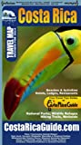 img - for Waterproof Travel Map Of Costa Rica book / textbook / text book