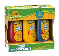 Crayola Washable Finger Paints