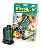 Carson MM-24 MicroBrite 20x - 40x LED beleuchtetes Taschen Mikroskop (inklusive Batterien) von Carson