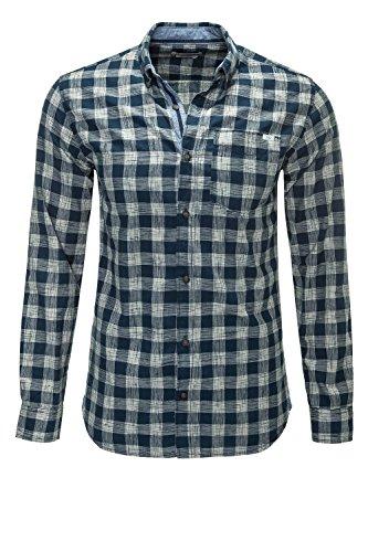Jack & Jones Originals camicia a maniche lunghe Camicia per il tempo libero camicia a quadri Blazer blu marine L