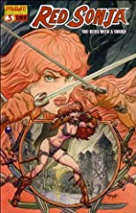 Red Sonja 3 She-devil with a Sword Cover C