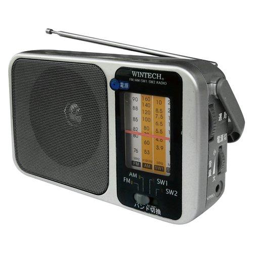 WINTECH 4バンドホームラジオ HR-K7