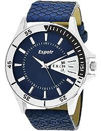 Espoir Analogue Blue Dial Men'S Watch- Yes0507
