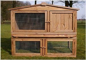 Stall Nr 2 Kaninchenstall Hasenstall Kaninchenkäfig Hasenkäfig Meerschweinchenstall