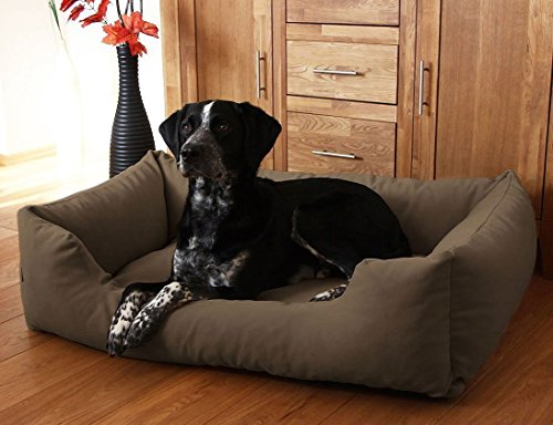 knuffelwuff dog bed dreamline xxl 120cm x 85cm brown