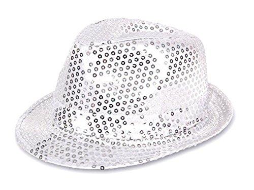 cappello-fedora-borsalino-di-molti-colori-diversi-con-paillette-clubstyle-discoteca-popstar-jazz-blu