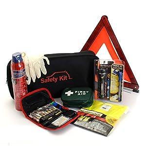 Ultimate Car Safety & Travel Kit for roadside emergencies - (3)