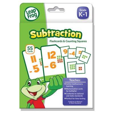 Leapfrog Subtraction Flash Card