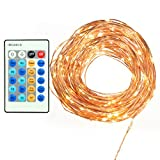 TaoTronics Dimmable Led Starry String Lights, 33ft Copper Wire Firefly Lights ,suitable for Indoors or Outdoors.