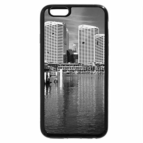 iPhone 6S Case, iPhone 6 Case (Black & White) - OH WHAT A BEAUTIFUL DAY