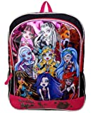 "Monster High 16"" Large Backpack Book Bag School"