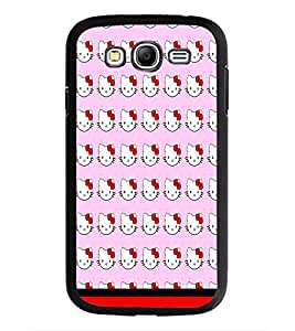 PrintDhaba Kitty pattern D-1772 Back Case Cover for SAMSUNG GALAXY GRAND I9082 (Multi-Coloured)