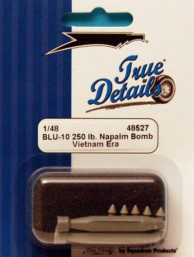 True Details BLU-10 250-Pound Napalm Bomb