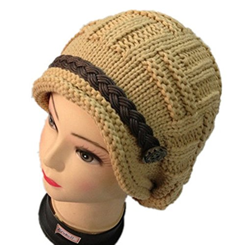 Learn More About Women Girls Fashion Soft Winter Knitted Cap, Yellow