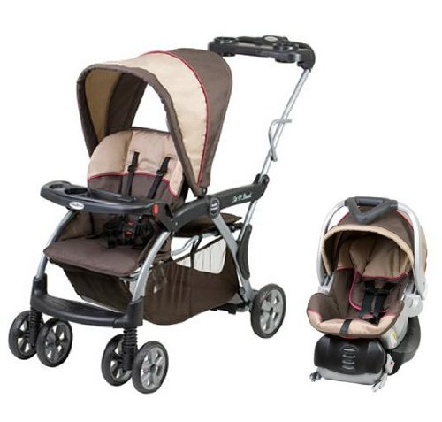 baby stoller baby trend sit n stand dx deluxe stroller car seat travel system sophie. Black Bedroom Furniture Sets. Home Design Ideas