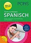 PONS Texte schreiben Spanisch: Aufsat...