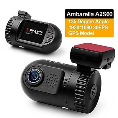 E-PRANCE® Mini 0801 Car DVR Dash Camera Ambarella from The Rear View Camera Center