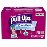Pull-Ups Training Pants with Cool Alert for Girls, 68 Count