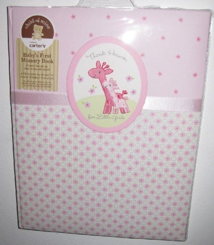 Baby Girl Record Book front-9795
