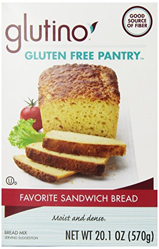 Glutino Gluten Free Pantry Favorite Sandwich Bread Mix, 20.1 Ounce (Cinnamon Raisin Bread Machine Mix compare prices)