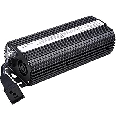Yescom 250w / 400w / 600w / 1000 watts HPS MH Digital Electronic Dimmable Ballast Grow Light Color: 600 Watts, Model: , Home & Outdoor Store