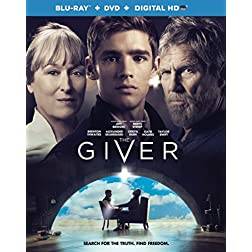 The Giver Blu-Ray + DVD + UltraViolet [Blu-ray]