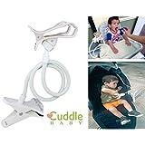 Bendy Armz - Car Seat Attachment/ Stroller Clip/ Stroller Attachment/ Hands Free Bottle Holder