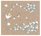 ほつま高蒔絵シール 蔦と小鳥