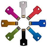 Enfain 8 Pack Color Sorted Key USB