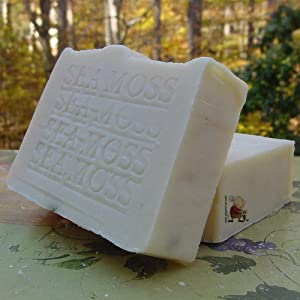 All Natural Soap with Sea Moss and Sea Kelp (Face and Body Soap)