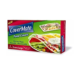 CoverMate® Food Covers - 2 Boxes of 8ct Extra Large Size Covers (sold as a set).