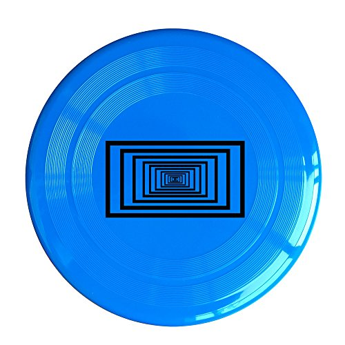 SAXON13CAP Funny 3D Visual Effect 150g RoyalBlue Toy Flying Disc