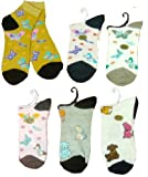Ladys Spandex Sock-Bunny/Dog (120 Pack)